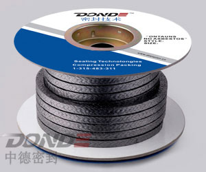 Expanded Graphite Fibre Braided Packing (ZD-P1100)