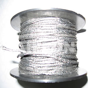 Inconel Reinforced Graphite Yarn External Braided With Inconel Mesh Y7000M