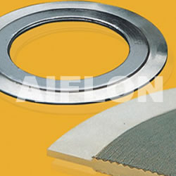 Serrated Gasket With Loose Outer Ring