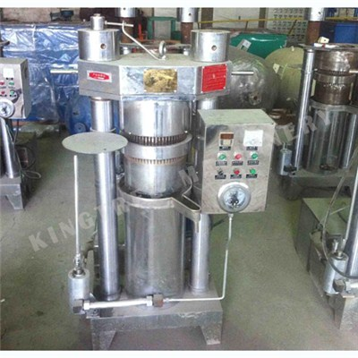 Low Temperature Hydraulic Coconut Oil Extracting Machine
