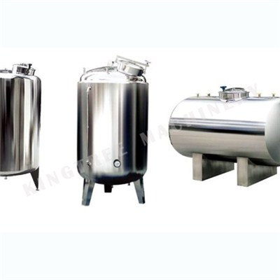 Coconut Milk Storage Tank