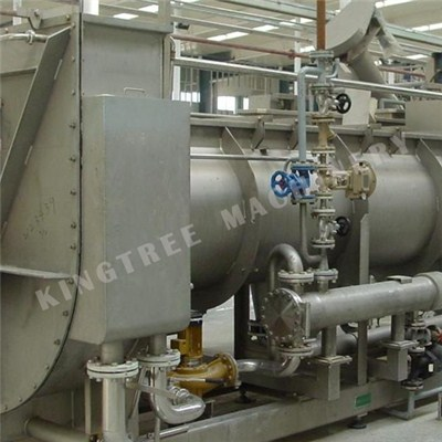 Spiral Coconut Meat Blanching Machine