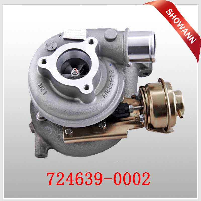GT2052V Turbocharger for Nissan Patrol with ZD30ETi Engine 724639 Turbocharger 724639-0002