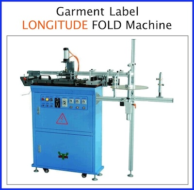 Warp direction folding machine