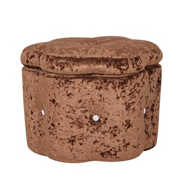 Fabric Ottoman Furniture Storage Stool