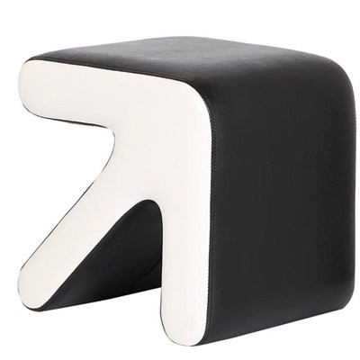 Leather Ottoman Stool Furniture