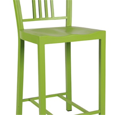 Commercial High Metal Dining Chair