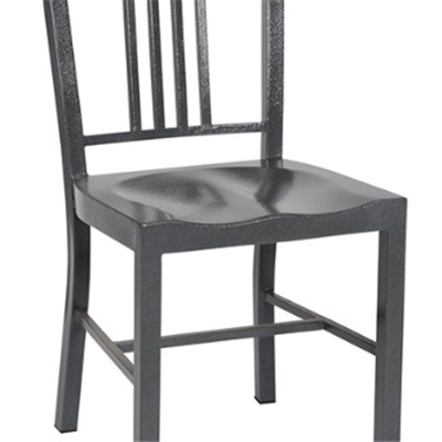 Hot Sale Navy Metal Dining Chair