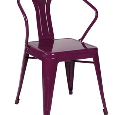 Stackable Metal Dining Chair