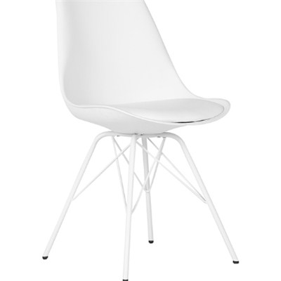 Pp White Plastic Dining Chair