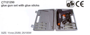 Glue gun set with glue sticks