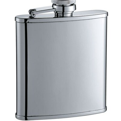 HF048 2.5oz Stainless Steel Barware Square Shape Hip Flask Wine Flask
