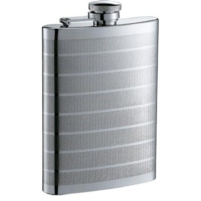 HF059 9oz Stainless Steel Barware Square Shape Hip Flask Wine Flask