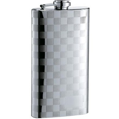 HF062 5oz Stainless Steel Barware Square Shape Hip Flask Wine Flask