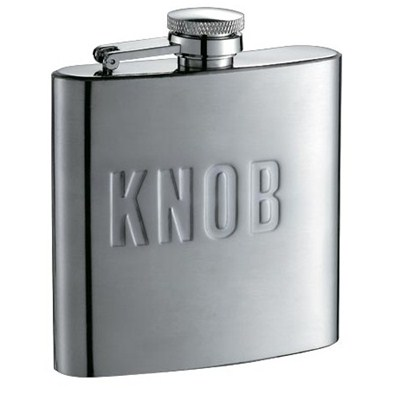 HF068 6oz Stainless Steel Barware Square Shape Hip Flask Wine Flask with Different Size