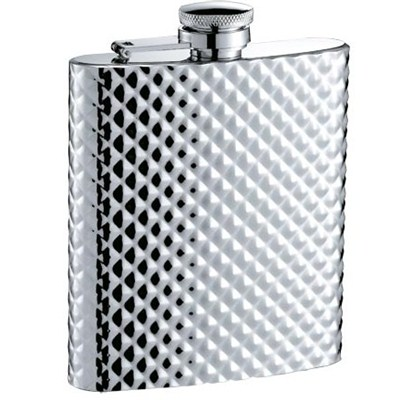 HF074 8oz Stainless Steel Barware Square Shape Hip Flask Wine Flask Top Quality