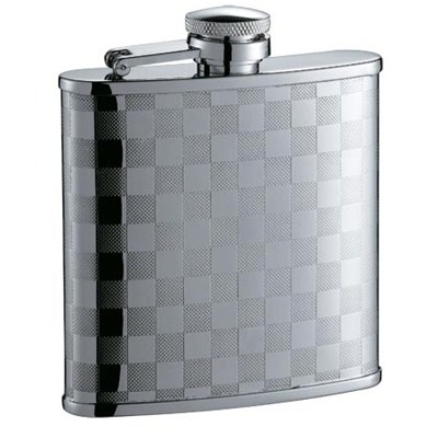 HF076 5oz Stainless Steel Barware Square Shape Hip Flask Wine Flask