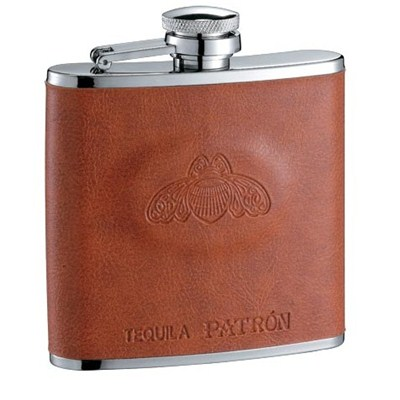 HF107 5oz Stainless Steel Barware Square Shape Hip Flask Wine Flask