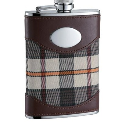HF135 8oz Stainless Steel Barware Square Shape Hip Flask Wine Flask