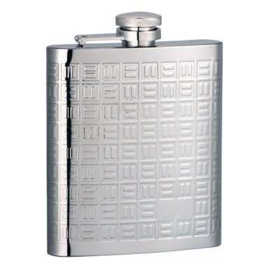 HF164 8oz Stainless Steel Barware Square Shape Hip Flask Wine Flask