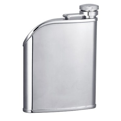HF168 6oz Stainless Steel Barware Square Shape Hip Flask Wine Flask