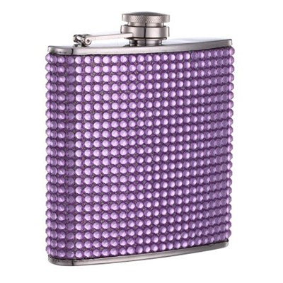 HF172 6oz Stainless Steel Barware Square Shape Hip Flask Wine Flask