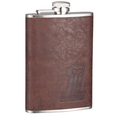 HF174 8oz Stainless Steel Barware Square Shape Hip Flask Wine Flask