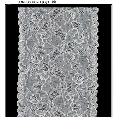 17.5 Cm Flowered Galloon Lace (J0061)