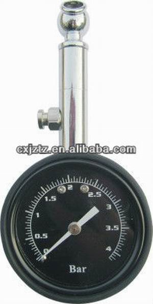 63mm 2.5 Pencil Automobile Tire Pressure Gauge
