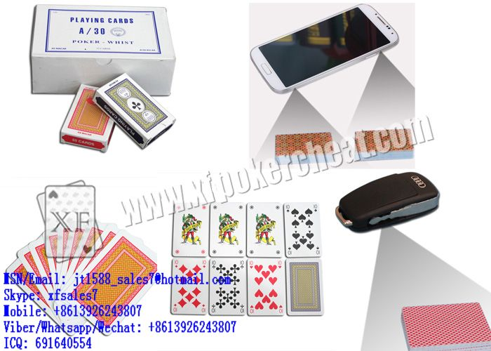 XF A/30 Turkish Paper Playing Cards With Sides Bar-Codes Markings Scanned For Poker Analyzer  / invisible ink / marked playing cards / cards playing cards / playing cards china / marked cards china