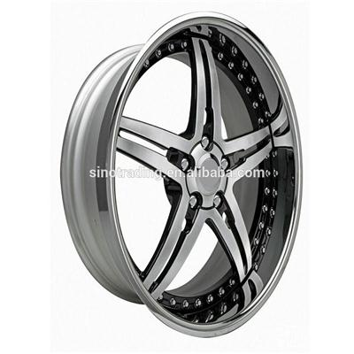 Grey/Black/Sliver Forged Replica Wheel Rims