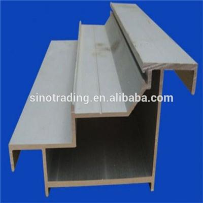 Powder Coating Building Aluminium Curtain Profiles