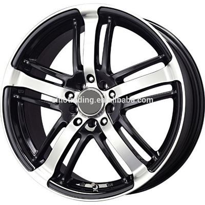 14-18 Inch Sliver Machined Face Aluminum Car Alloy Rims