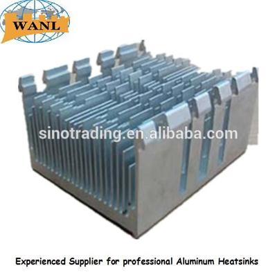 Sliver Anodizing Aluminum Led Heat Sinks