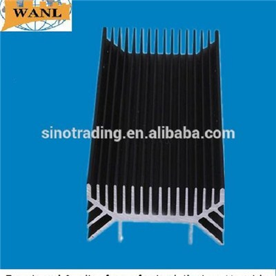 Black Anodizing Aluminum Inverter Heat Sinks