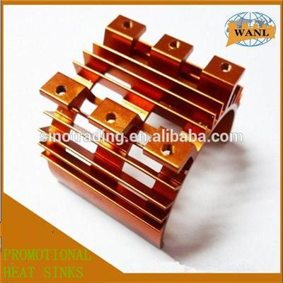Anodizing Led Copper Heat Sinks