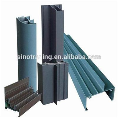 Anodizing Building Aluminum Curtain Profiles