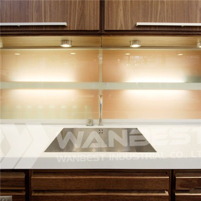 Corian White Kitchen Counter