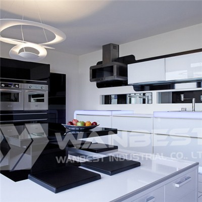 Hi Macs 12mm White And Black Kitchen And Light