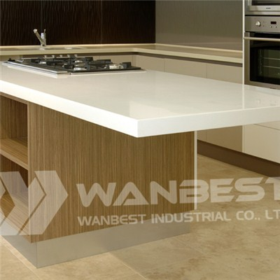 Hanex White Kitchen Island