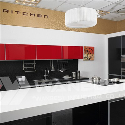 Hanex White Kitchen Counter Top