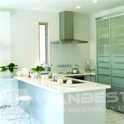 Hanex White Kitchen Counter