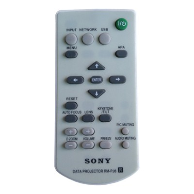 Projector Remote Control For Sony Data Projector RM-PJ6