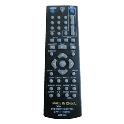DVD Universal Remote Controller For Multimedia Equipment