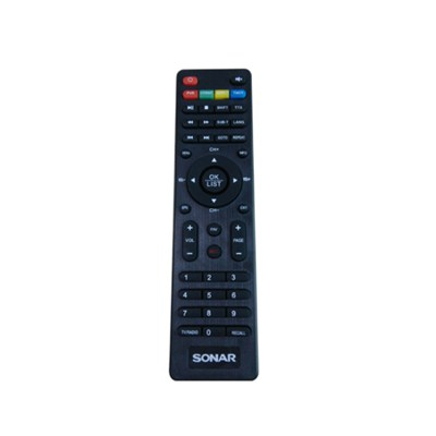 High Quality OEM Custom Universal STB Remote Control For Sale