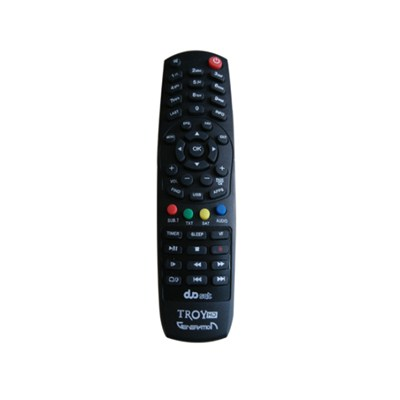 Universal TV SAT STB Remote Control Duosat Troy HD For South America Market