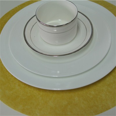 Nonwoven Round Placemat