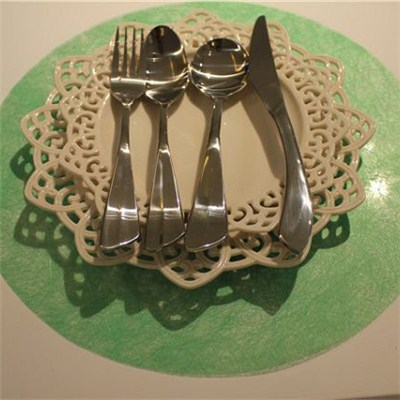 Green Round Sheet Placemat