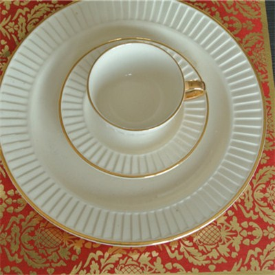 Gold Printed Placemat