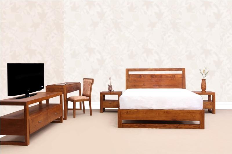 Teak wood bed| Bedroom furniture| teak bed in malaysia/Home ...